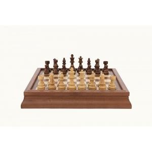 Dal Rossi 46cm Chess,Checkers,Backgammon Set-2202-0