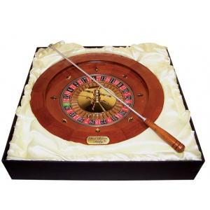 """Dal Rossi Italy Roulette Wheel 35 cm (14"""") Similate the real Deal!Comes with a metal ball-0"""