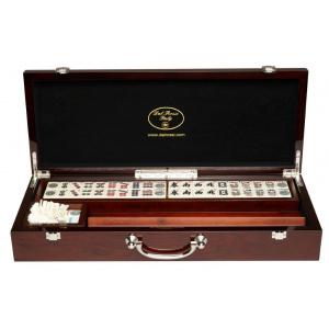 Dal Rossi Mahjong: Deluxe Oak Case 53cm-0