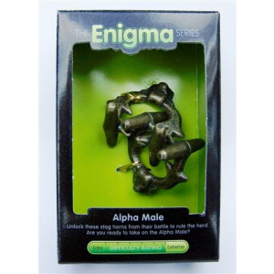 """""""Alpha Male""""-Enigma Series Puzzles metal mind teaser puzzles-0"""