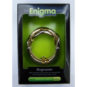 """Ringmaster""-Enigma Series Puzzles metal mind teaser puzzles.-0"