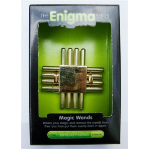 """""""Magic Wands""""-Enigma Series Puzzles metal mind teaser puzzles. -0"""