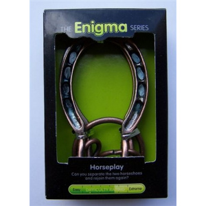 """""""Horseplay""""-Enigma Series Puzzles metal mind teaser puzzles.-0"""