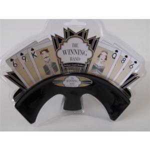 Winning Hand Cardholder - Black Velvet-0