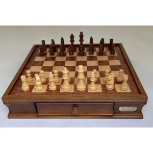 """Dal Rossi Chess Set 20"""", With Wooden Chess Pieces-2242"""